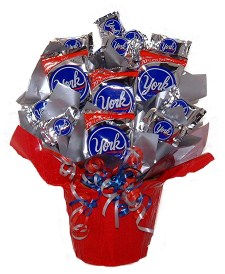 Peppermint Patti Candy Bouquet